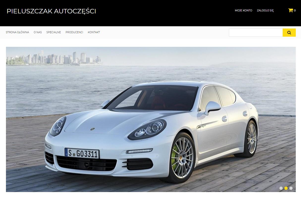 Auto parts e-commerce
