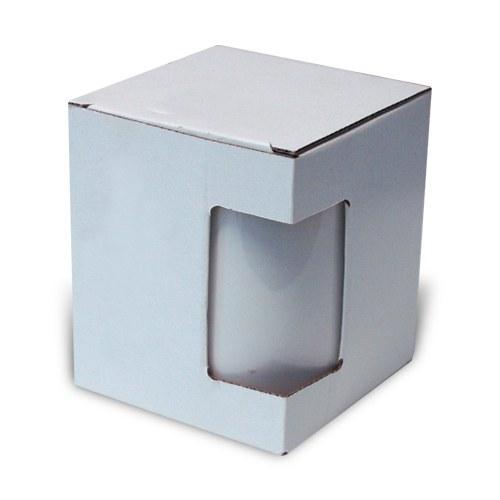 Pudełko z okienkiem na kubek 450 ml