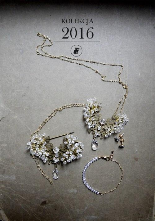 Brooch with crystals no. 351