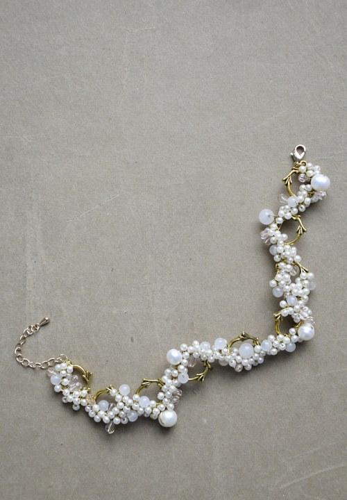 Bransoletka z perełkami numer 376