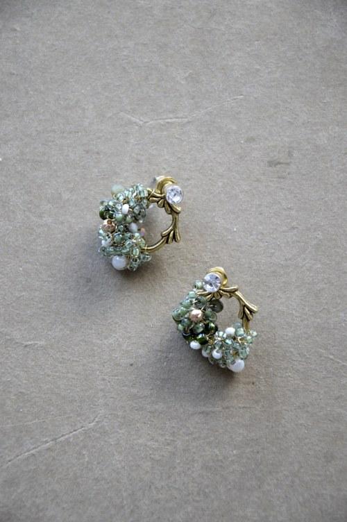 Rustic earrings no. 392