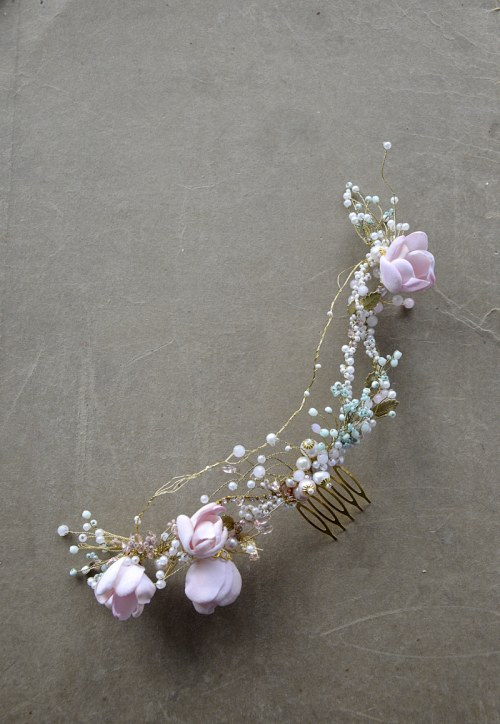 Floral hair vine no.396