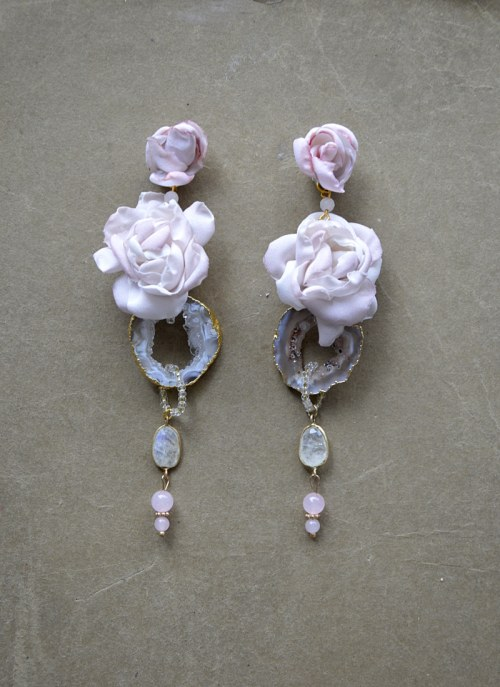 Long earrings no. 401
