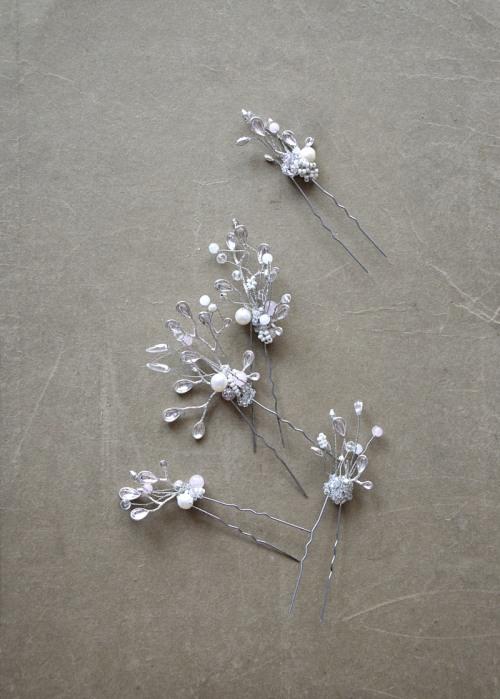 Romantic hair pins no. 405