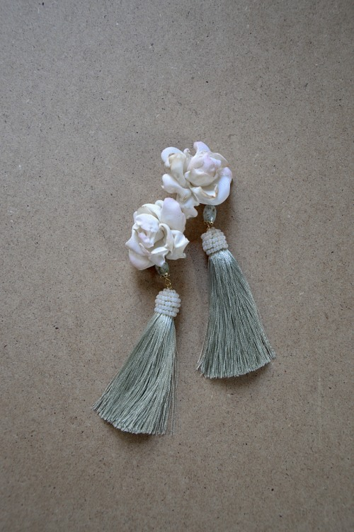 Floral earrings no. 427
