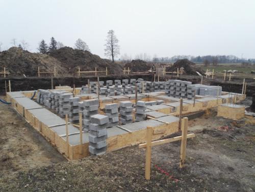 Budowa domu jednorodzinnego koło Wrocławia