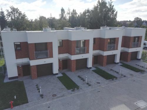 Zakończenie budowy dwóch domów szeregowych
