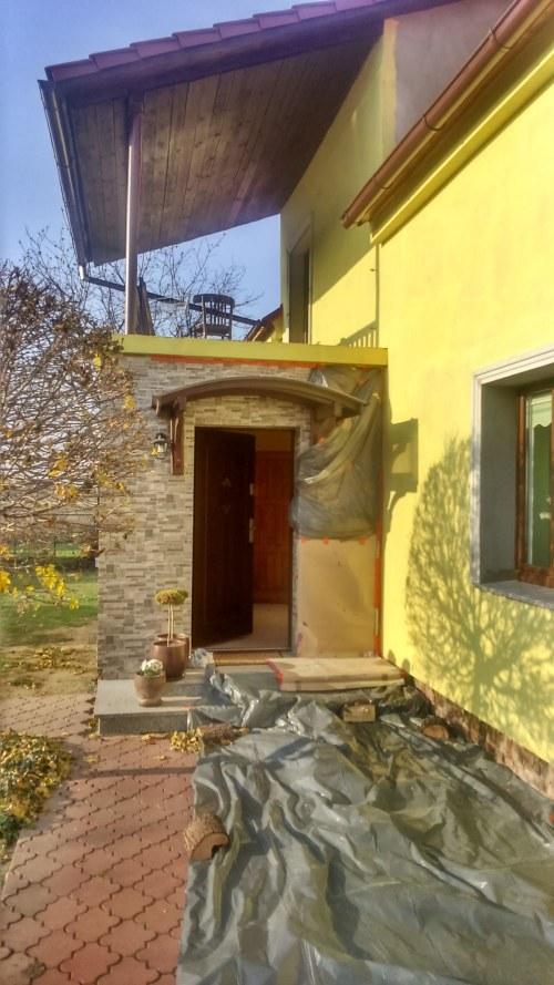 Docieplenie elewacji domku jednorodzinnego koło Wrocławia