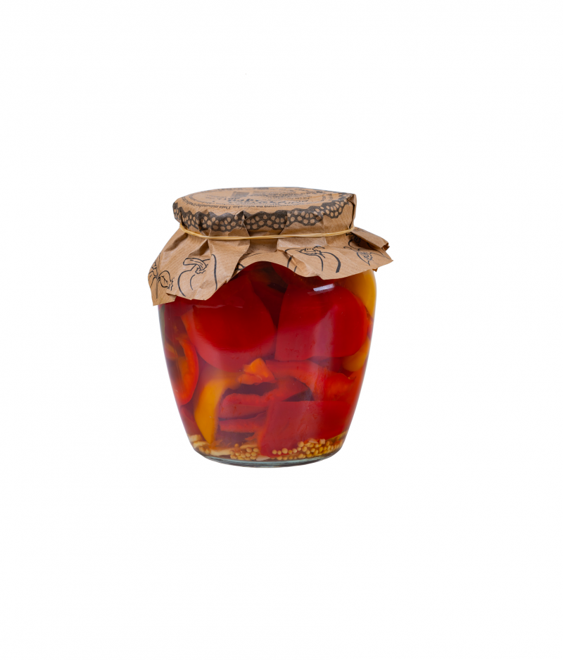 Papryka konserwowa z czosnkien 710g/ 350g