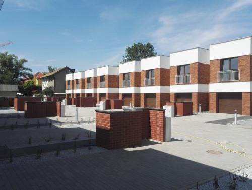 Osiedle domów szeregowych we Wrocławiu