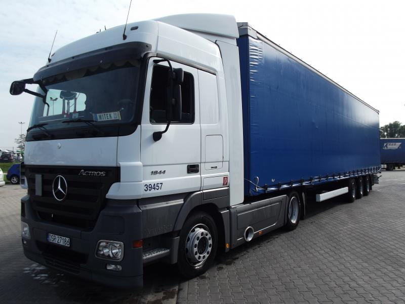 Mercedes Actros Low Deck