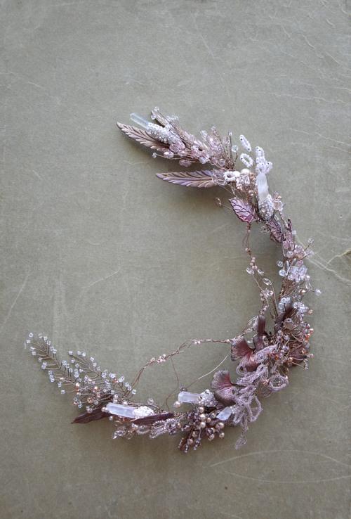 Rustic hair vine no 417