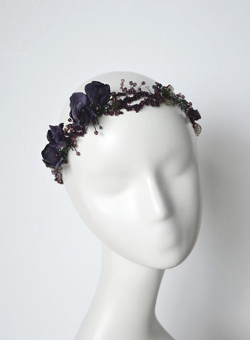 Dark hair vine no. 414