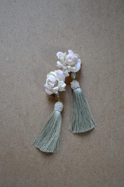 Floral earrings no. 427