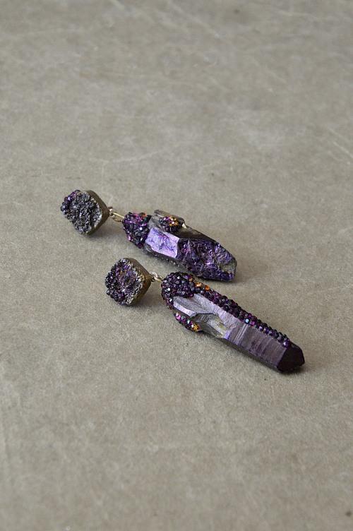 Titanium earrings no. 458