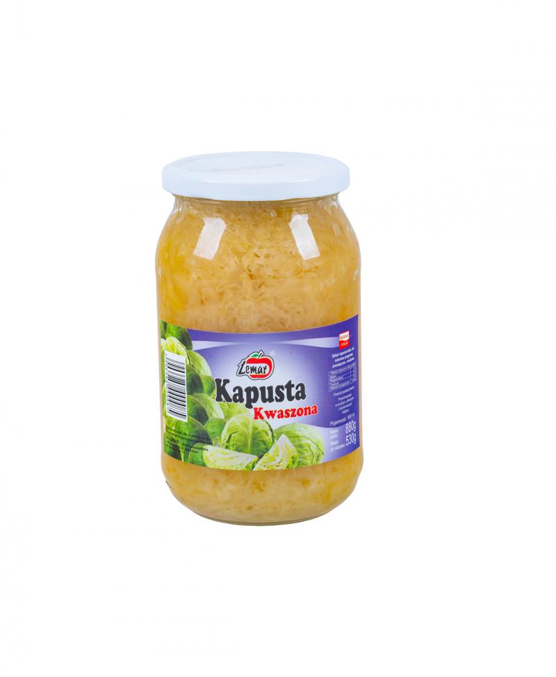 Kapusta Kwaszona 880g/ 530g