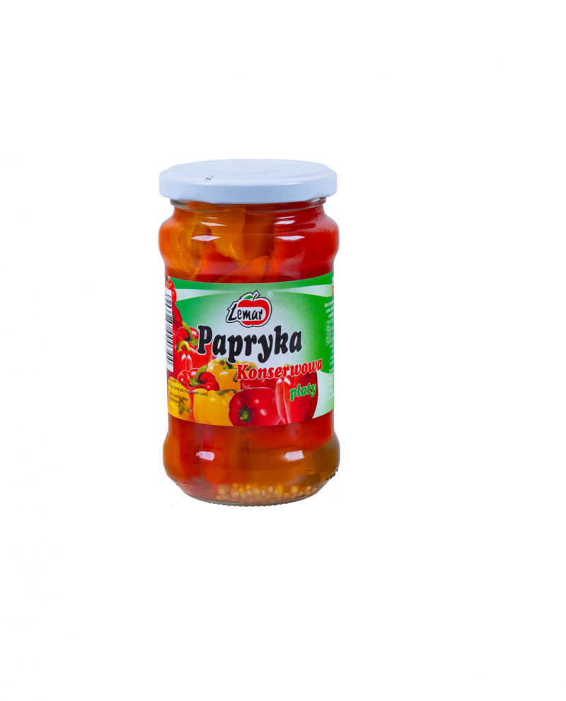 Papryka konserwowa Płaty 280g/ 150g
